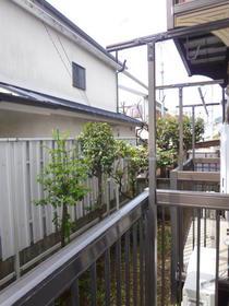 西坂ハウス 102号室の景色