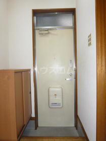 西坂ハウス 102号室の玄関