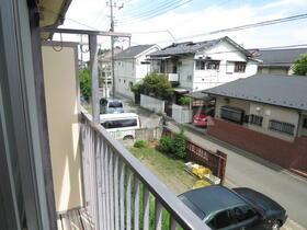 東栄荘 201号室の景色
