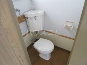 東栄荘 201号室のトイレ