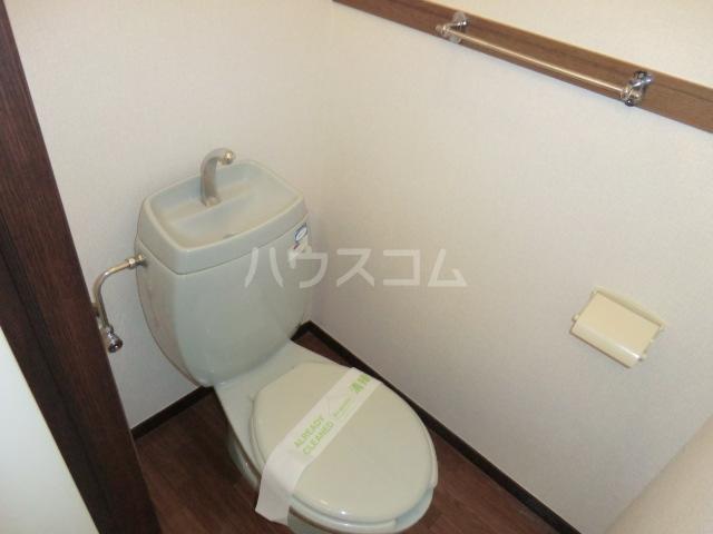 セントラルパディ 307号室のトイレ
