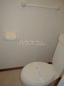 カントリーサイド有明 203号室のトイレ