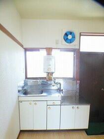 第三泉ハイツ 102号室のキッチン