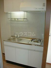 クレストコート 105号室のキッチン