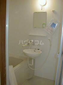 クレストコート 105号室の風呂