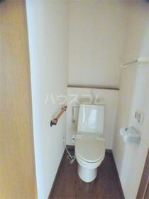リキハウス 103号室のトイレ