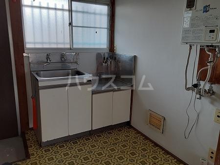 宮前荘 201号室のキッチン