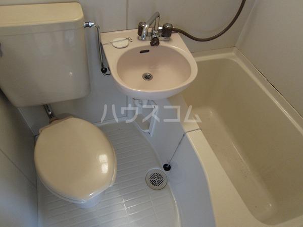 ハイツカトレア 205号室のトイレ