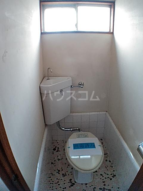 蓑島 201号室のトイレ