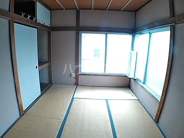 蓑島 201号室のベッドルーム