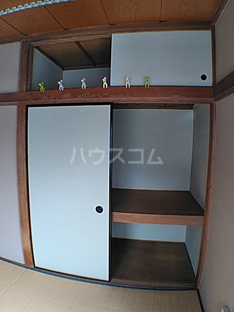 蓑島 201号室の収納