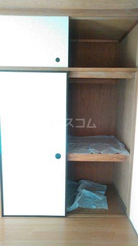 レスポワール 302号室の収納