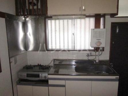 第三コーポ H号室のキッチン