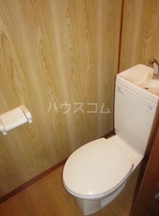 第三コーポ H号室のトイレ