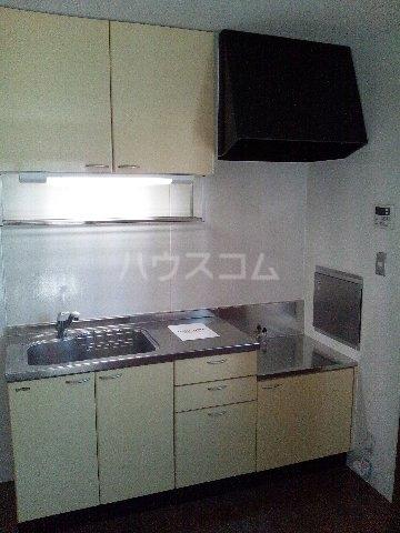 ピュア 輝 101号室のキッチン