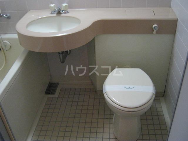 ライオンズテラス武蔵小金井 308号室のトイレ