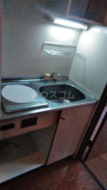 ライオンズテラス武蔵小金井 239号室のキッチン