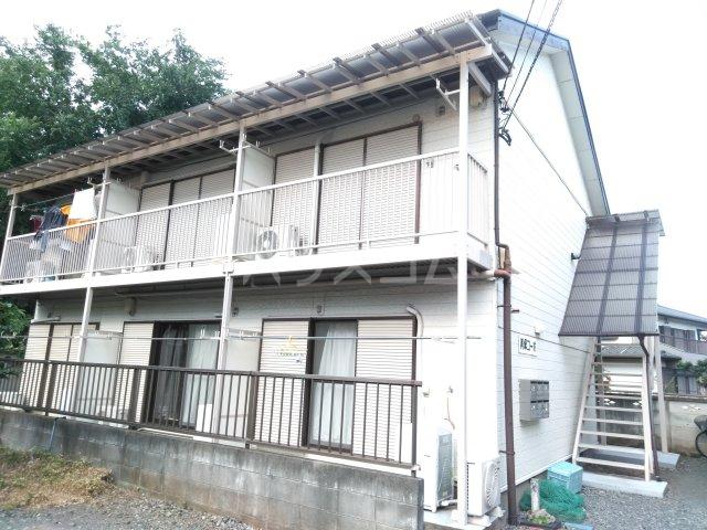 美塚コーポ 201号室のエントランス