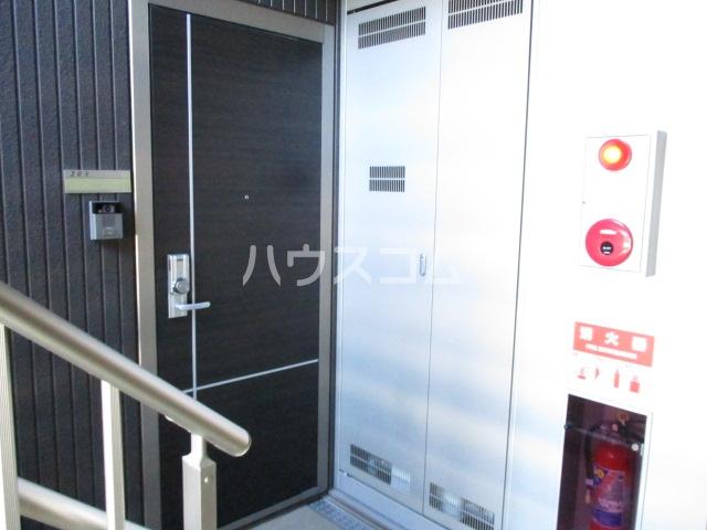 ヒラリバー アネックス 205号室のエントランス