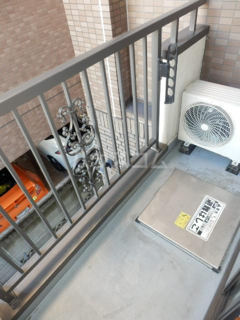 プリムヴェールハイム 306号室のバルコニー