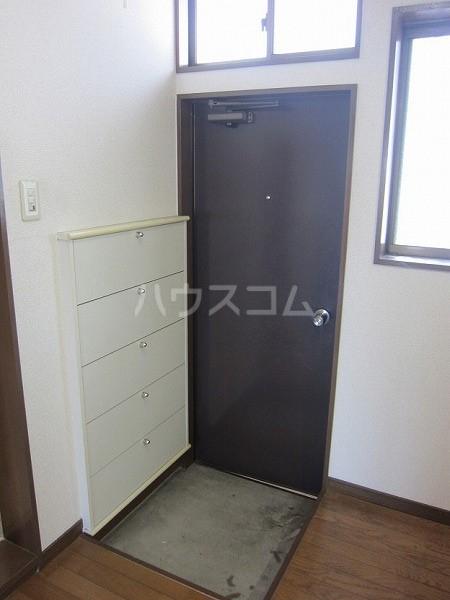 熊倉ハイツ 204号室の玄関