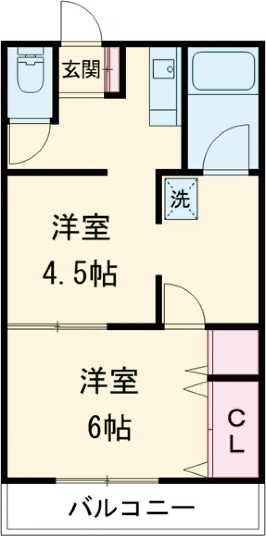メゾン大澤・303号室の間取り