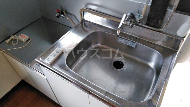 パークサイド 201号室の洗面所