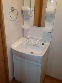ボルベール調布ヶ丘 102号室の洗面所