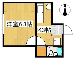 ルミシアⅡ 302号室の間取り