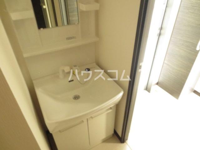 Emigrant 402号室の洗面所