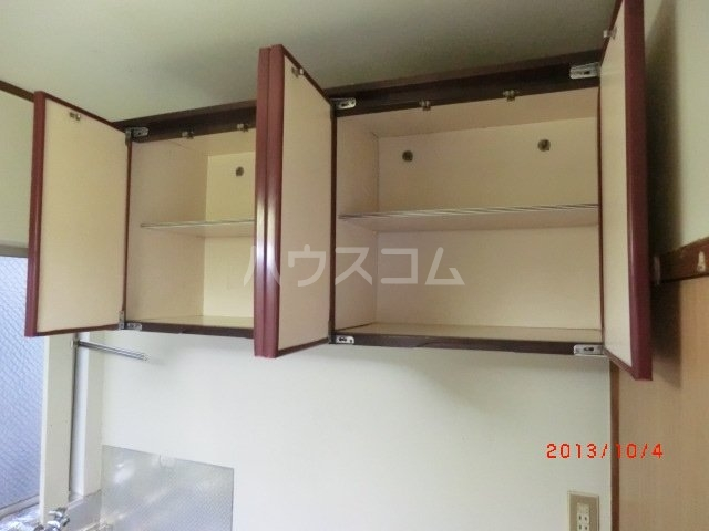 佐久間荘 203号室の居室