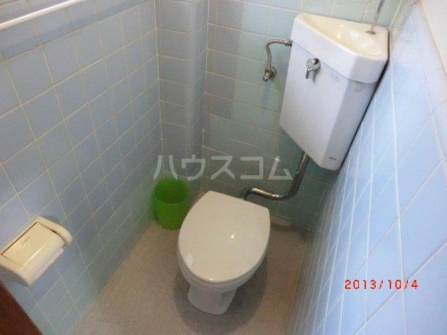 佐久間荘 203号室のトイレ