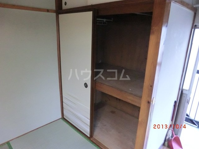 佐久間荘 203号室の収納
