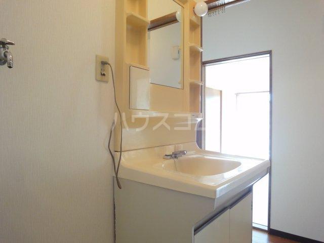 コーポカトレア 201号室の洗面所