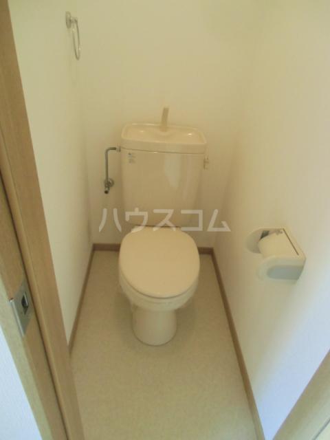 ルーエンハイム 102号室のトイレ