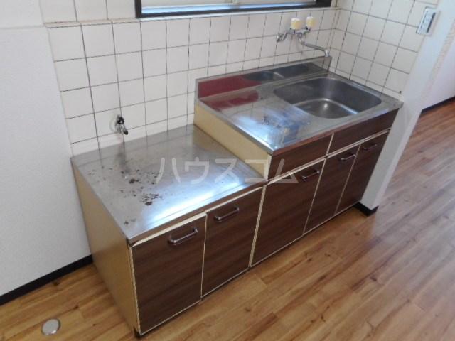 ラベンダータウン B棟 3-A号室のキッチン
