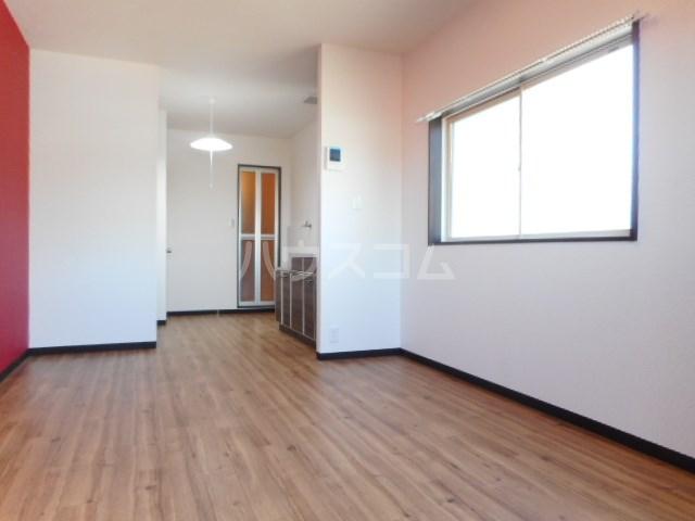 ラベンダータウン B棟 3-A号室のベッドルーム