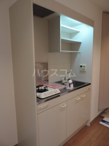 ウィンディーニ 601号室のキッチン