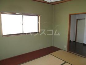 海野マンション 2号室のベッドルーム
