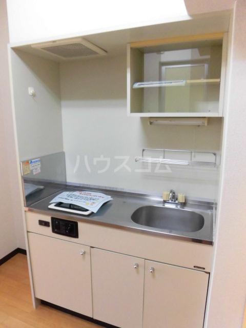 ブルースカイ 103号室のキッチン