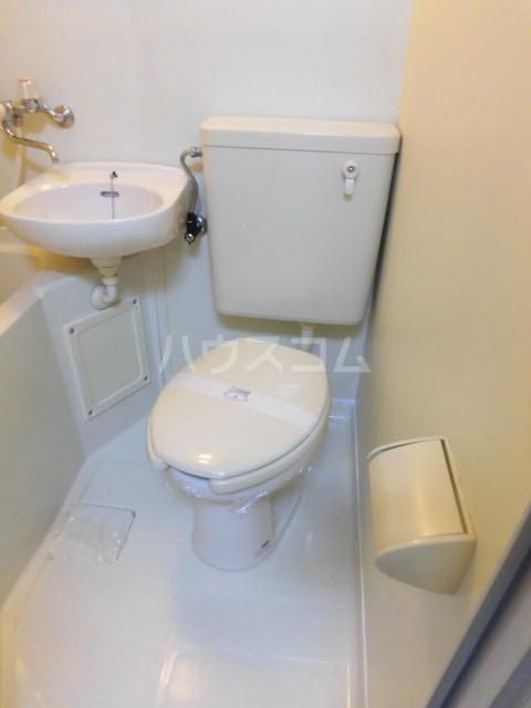 ブルースカイ 103号室のトイレ