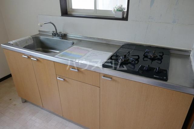 エスコートG 202号室のキッチン
