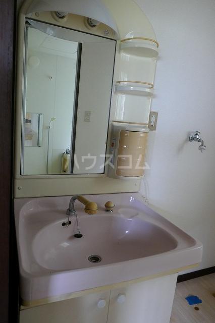 エスコートG 202号室の洗面所