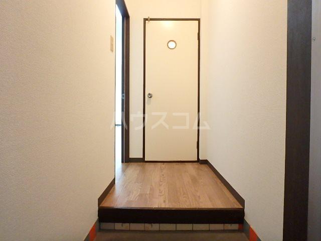 ラベンダータウン B棟 3-C号室の玄関