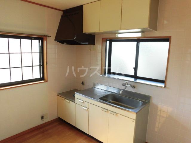 クリーンハイツ大池Ⅱ 202号室のキッチン