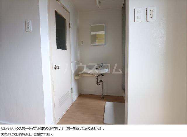 ビレッジハウス大東Ⅱ1号棟 307号室の洗面所