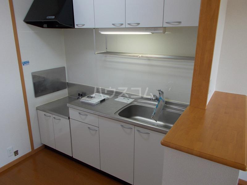 ボニート 02010号室のキッチン