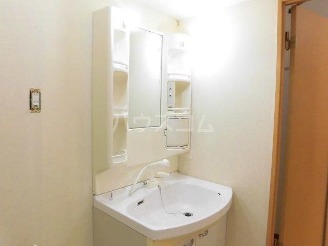 グロワール 301号室の洗面所