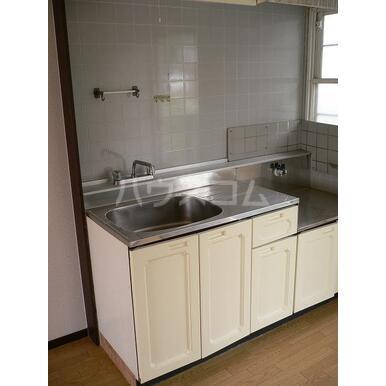 シャトレA 202号室のキッチン