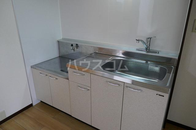 サイレンスシティ 202号室のキッチン
